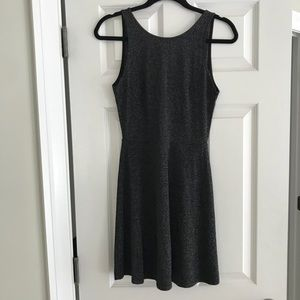 H & M silver and black dress